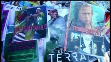 Fiscais apreendem mídias piratas em Taguatinga - Foram mais de 32 mil DVDs e CDs piratas apreendidos na Feira de Importados de Taguatinga. Os vendedores conseguiram fugir e ninguém foi preso.