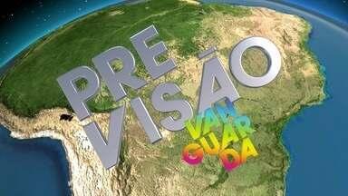 Veja a previsão para a região de São José dos Campos, Serra e Bragança Paulista. - Dados são do Cptec/Inpe de Cachoeira Paulista.