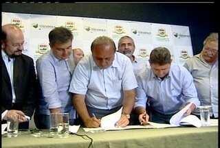 Teresópolis, RJ, vai receber investimento de 16 milhões para obras de pavimentação - O investimento faz parte de um convênio entre o governo do estado e a prefeitura da cidade.