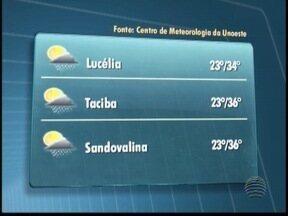 Final de semana deve ser quente no Oeste Paulista - Veja como ficam as temperaturas neste sábado (1).