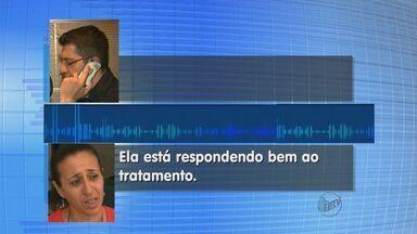 Mãe vê Lais sentada e acredita na recuperação: 'Ela me pediu um beijo' - Esquiadora e Odete Souza seguram o choro ao se encontrarem em hospital nos EUA.