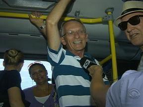 Usuários do transporte público sofrem com mais um dia de greve - Greve dos motoristas e cobradores já dura cinco dias.