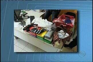 Doze quilos de cocaína são apreendidos na Grande Aracaju - Doze quilos de cocaína são apreendidos na Grande Aracaju
