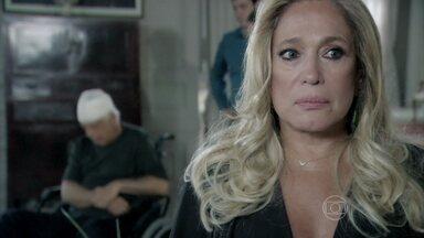 Pilar assume a culpa por acidente que matou a mãe de Aline - César é operado às pressas e consegue sobreviver a um AVC. O médico é levado para a casa da ex-mulher e explica o plano de vingança de Aline contra ele