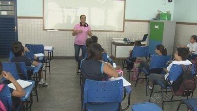 Ano letivo tem início em Manaus - Alunos voltaram a estudar nesta quarta-feira (5).