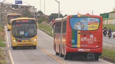 Agentes de trânsito vão fiscalizar rodovias estaduais em Paulista - Um carro do Tribunal Regional Eleitoral foi flagrado na faixa exclusiva para ônibus.