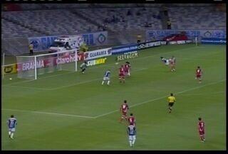 Cruzeiro vence o Vila Nova no Mineirão por 3 a 1 - O atacante Marcelo Moreno volta a marcar com a camisa do time celeste.