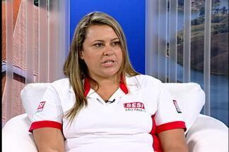 Confira dicas para curtir piscina no Alto Tietê - A orientadora do Sesi de Mogi, Elaine Moreira, fala sobre as opções de lazer no clube.