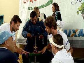 Esportes voltados para os deficientes - É a Paralimpíada, uma novidade da Festa da Uva deste ano