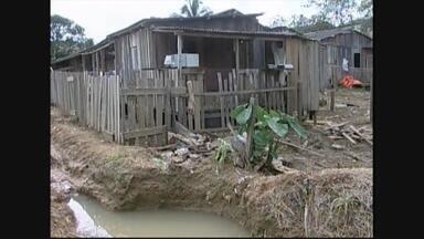 População de Ariquemes começa a se preocupar com o nível do rio - Não há registros de desabrigados.