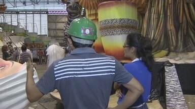 MPT fiscaliza escolas de samba de Manaus - Galpões foram fiscalizados; blitze acontecem durante toda a semana.