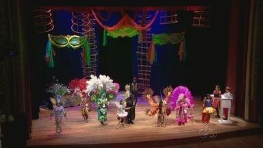 Bandas e concurso de fantasia animam fim de semana, em Manaus - Tradicionais bandas de rua aconteceram no sábado e domingo; concurso de fantasias premiou crianças no Teatro Amazonas.
