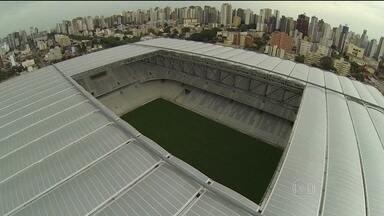 Atlético-PR promete entregar Arena da Baixada até o dia 30 de abril - Estádio teve ameaça de exclusão do Mundial.
