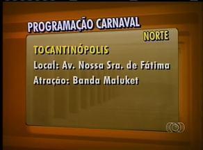 Confira a programação do último dia de carnaval na região norte do estado - Confira a programação do último dia de carnaval na região norte do estado.