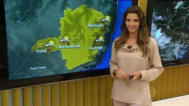 Terça-feira de carnaval deve ser de chuva em Minas Gerais - Segundo os meteorologistas, nuvens carregadas podem se formar à tarde e à noite em várias cidades. Reflexo da frente fria que atua no Sudeste do país desde a sexta-feira passada.