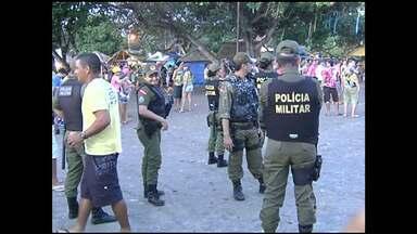 Carnalter tem segurança reforçada - Além da Polícia Militar, cerca de 150 seguranças particulares garantem segurança dos foliões.