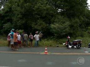 Colisão deixa uma pessoa morta e três feridos na PI-112 - Colisão deixa uma pessoa morta e três feridos na PI-112