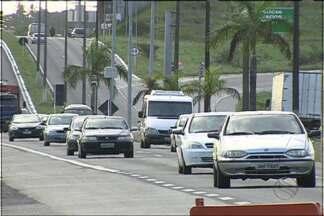 Movimento é intenso nas rodovias federais em Sergipe - Movimento é intenso nas rodovias federais em Sergipe