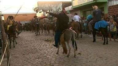 A Burralhada, em Joaquim Gomes, reuniu vaqueiros de várias regiões vizinhas - Uma tradição no carnaval de Alagoas, a burralhada completou 26 anos e aconteceu no último dia de festejos carnavalescos.