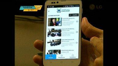 Aplicativo de celular registra queixa de cidadão e manda mensagem direto para vereador - Inovação já está em funcionamento em Cascavel.