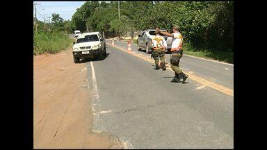 Movimento na Rodovia Everaldo Martins é tranquilo na terça-feira - Ptran informou que apenas dois veículos foram removidos por infrações.