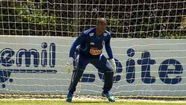 Elisson estreia como goleiro do Cruzeiro em jogo contra o Nacional - Partida ocorre nesta quarta-feira (5), em Muriaé, na Zona da Mata. O goleiro começou na categoria de base do Cruzeiro quando ainda tinha 11 anos.