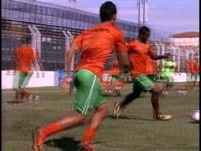 São Paulo-RG treinou nesta terça-feira - Na quinta-feira, o time enfrenta o Caxias no estádio Centenário.