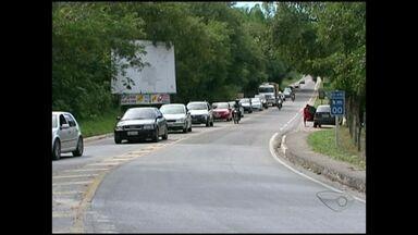 No Sul do ES, estradas ficam lotadas após carnaval - O movimento é intenso nas rodovias federais.