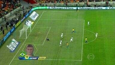 Seleção brasileira vence África do Sul em amistoso da copa - A seleção brasileira goleou a África do Sul no último amistoso, antes da convocação oficial da seleção brasileira.