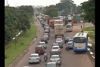 Depois do Carnaval, trânsito fica lento na volta para casa pela BR-316 - Depois do Carnaval, trânsito fica lento na volta para casa pela BR-316