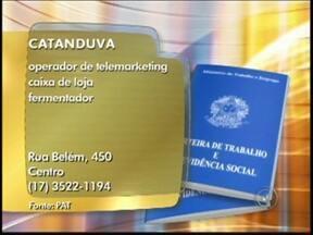 Confira as vagas de emprego anunciadas no Bom Dia Cidade de Rio Preto, SP - Precisando trabalhar? O Bom Dia Cidade anuncia vagas em aberto na região noroeste paulista. Confira