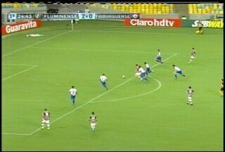 Pela série A do Carioca, o Fluminense goleia o Friburguense na última quarta-feira (5) - O placar foi 3x1.