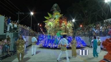 Unidos da Tamandaré é bicampeã do Carnaval de Guaratinguetá, SP - Com um enredo que destacou o sertão nordestino e a cultura de seu povo, a Unidos da Tamandaré conquistou o bicampeonato do Carnaval em Guaratinguetá, um dos mais tradicionais do interior de São Paulo.
