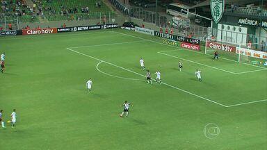 Atlético-MG vence Caldense no Independência por 2 a 0 - Neto Berola fez gol de letra.