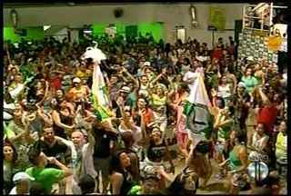 Vilage no Samba é a grande campeã do Carnaval de Nova Friburgo, RJ - Veja como está a comemoração na quadra da escola