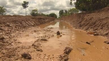 Em Candeias, metade das estradas da área rural está comprometida pela cheia do rio - O processo de recuperação das estradas só poderá iniciar em abril.