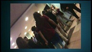 Alarme de incêndio dispara em sala de cinema do Pier 21 - O alarme de incêndio da sala 10 do Cinemark do Pier 21 disparou durante a última sessão da noite de quarta-feira (5). Quem assistia ao filme conta que ninguém apareceu para dar explicações.