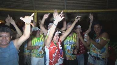 Bloco de carnaval anima foliões na quarta-feira de cinzas, no AM - Bloco de rua 'Fuleragem' fecha oficialmente o carnaval de Manacapuru.