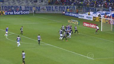 Cruzeiro vence o Tupi de virada no Mineirão - Tupi abriu o placar com um gol de falta. Marcelo Moreno e Dedé viraram o jogo para o time da capital.