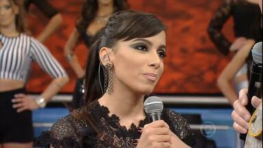 Faustão 2013 - ANITTA - LINHA DO TEMPO - ANITTA