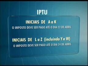 Carnês do IPTU podem ser entregues no final de março - O atraso na impressão é devido a retirada da taxa de sinistro que foi considerada inconstitucional, a prefeitura de Cascavel vai recorrer da decisão.
