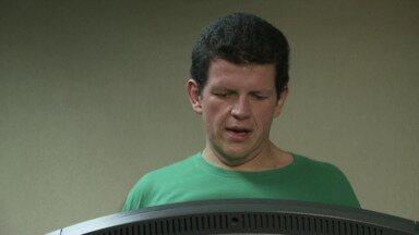 Depois de seis meses de muito exercício e dieta, Felipão conseguiu emagrecer - A meta dele era emagrecer mais de 50 quilos.