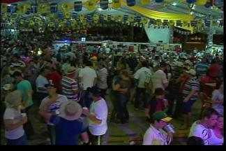 Festival Nacional da Cuca com Linguiça reúne mais de 85 mil pessoas - O festival acontece até amanhã.