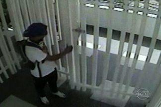 Câmeras de segurança podem ajudar a desvendar assassinato de comerciante - O comerciante chinês foi morto em Guarulhos, Grande São Paulo. Os bandidos sabiam que ele guardava dinheiro em casa, mas não desconfiavam que havia um alarme ligado.