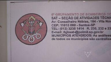 Bandidos usam Corpo de Bombeiros para aplicar golpe - Boletos falsos estão sendo enviados para moradores da Baixada Santista.