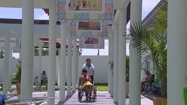 Bom dia Amazônia mostra atividades do novo Serviço terapêutico Lara Rosa Blaya em Manaus - Serviço foi inaugurado no dia 26 de fevereiro.