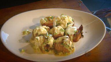 Aprenda uma receita de batata doce com queijo frescal - Aprenda uma receita de batata doce com queijo frescal