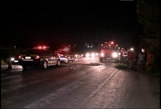 Homem morre atropelado na BR-287 em Santa Maria, RS - O acidente aconteceu na Faixa Nova de Camobi, por volta das nove horas da noite.