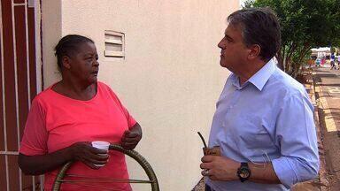 Tereré com Cabral visita o bairro Jardim Colibri - Os moradores da região sul de Campo Grande apresentam as reivindicações para melhorar o bairro