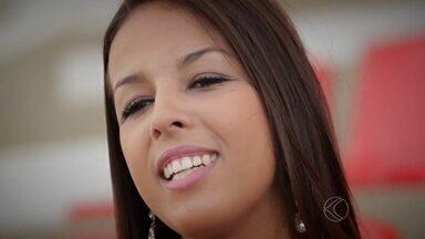Musa do Mineiro: conheça Priscilla Presley, a representante do Nacional - A estudante de 19 anos é a representante do time de Muriaé e garante que a paixão pelo clube cresce a cada dia